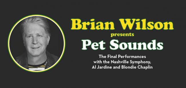 "Brian Wilson presents Pet Sounds ""The Final Performances ..."