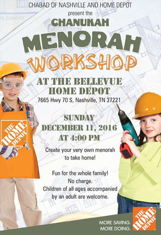 Chanukah Menorah Workshop Kids Out And About Nashville