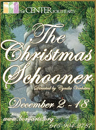 The Christmas Schooner At The Center For The Arts In Murfreesboro